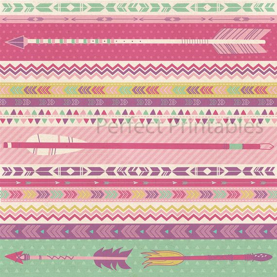 Primrose Digital Scrapbook Paper Personal by WhimsyandLarkDigital