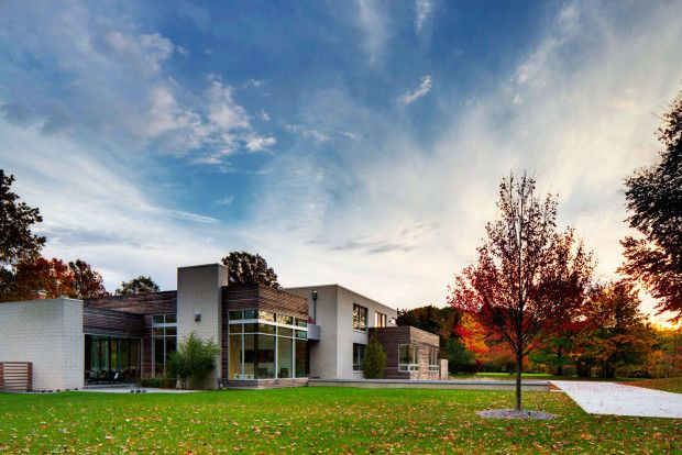 Modern Home Design of Shaker Heights Residence by Dimit Architects