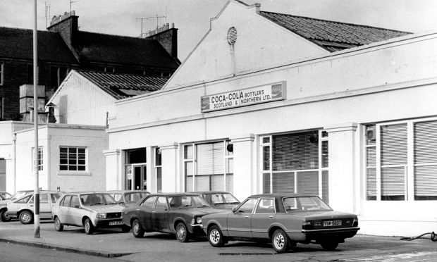 Coca Cola depot & factory in Clepington Road, Dundee. Worked here from 1974 to 1977