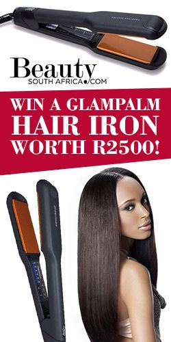 Win A Glampalm Hair Iron Worth R2500