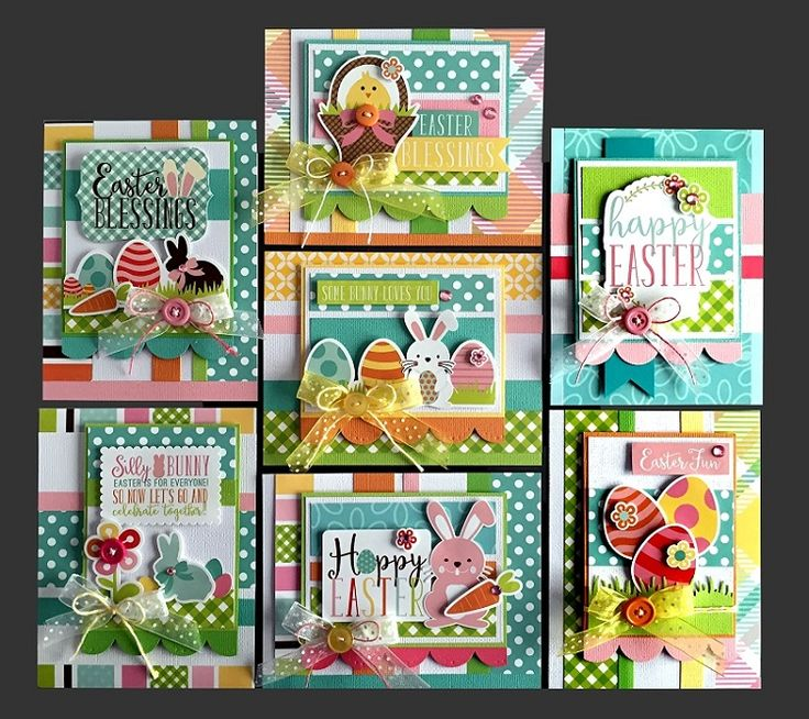 143 best images about Easter Cards – Easter Card Making Kits