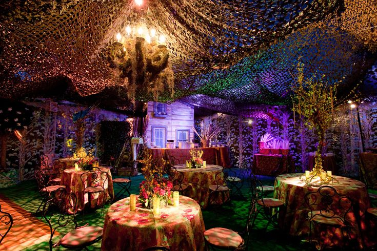 Check out the beautiful Enchanted Forest tent in the back yard! Description from taraarrowood.com. I searched for this on bing.com/images