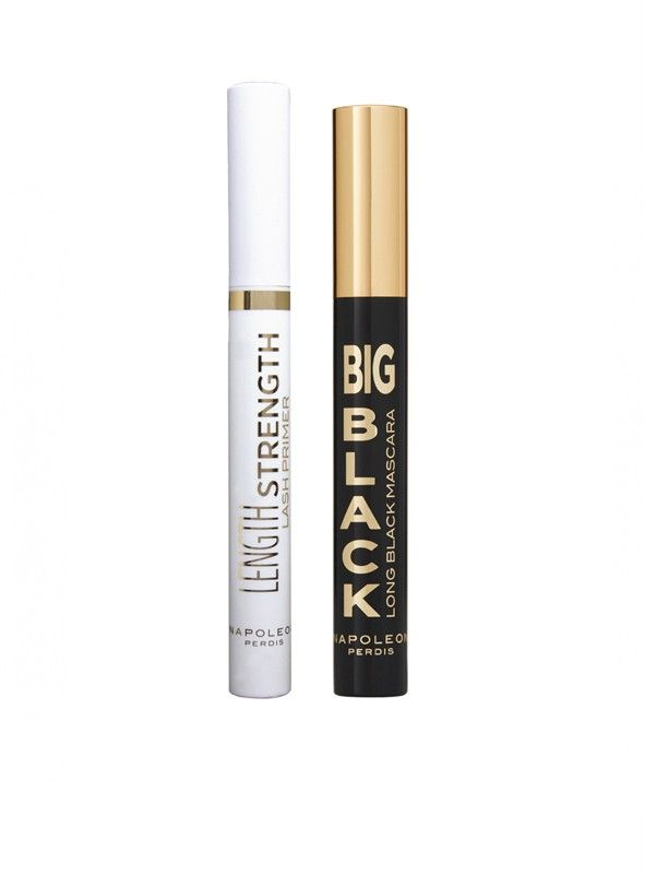 Napoleon+Perdis+Signature+Mascara+++Primer+Duo+-+Signature+Mascara+++Primer+Duo+by+Napoleon+PerdisCondition+&+strengthen+lashes+from+root+to+tip.Set+Includes: Length+Strength+Lash+Primer+-+works+to+prep,+prime+&+build+dramatic+length+for+silky+smooth+mascara+application+ +6.5ml Big+Black+Long+Black+Mascara+-+Unique+wand+features+wide+gaps+for+maximum+length+&+high+volume,+minus+any+flaking+or+clumping+ +10ml Features: White+undercoat+boots+mascara+pigment Paraben+...