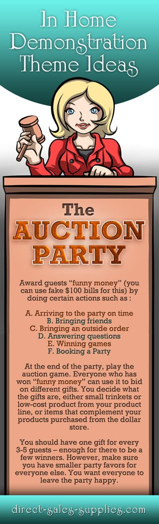 Consultant Party Games  Theme Your Party and Your Games