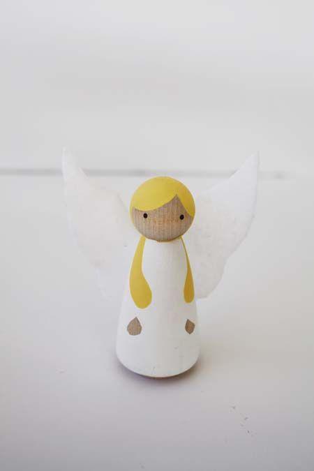 arch angel peg doll