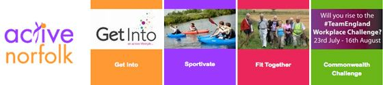 #Active #Norfolk: Commonwealth Games Challenge, Holiday Activities, Events