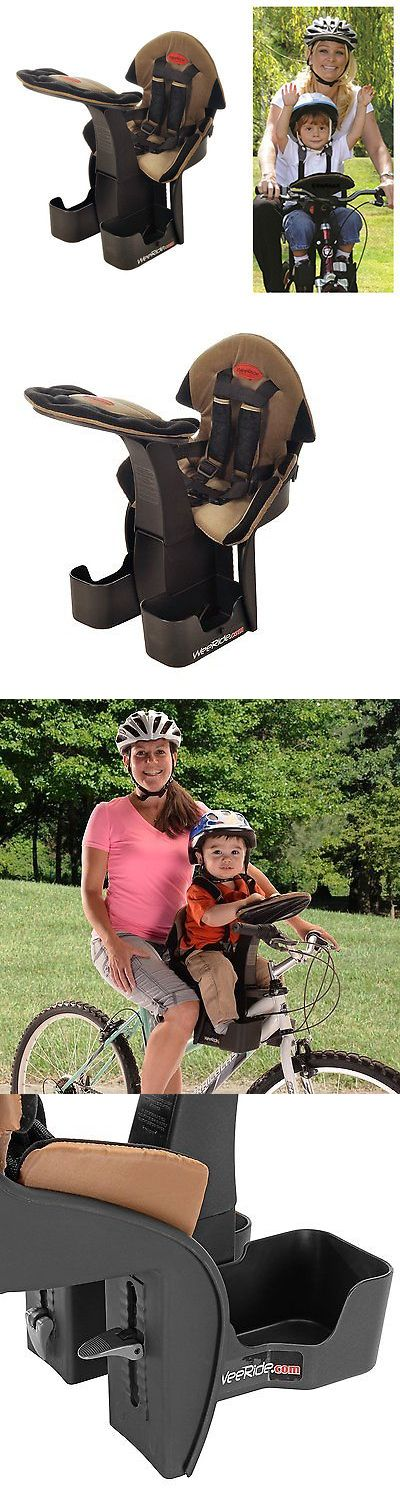 Child Seats 56808: Child Bike Seat Kangaroo Weeride Ltd Bicycle Rack Safety Baby Carrier Front Ride BUY IT NOW ONLY: $74.99