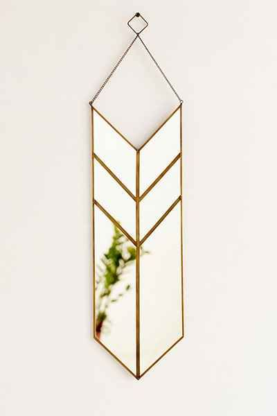 "Magical Thinking Hanging Pennant Mirror - Urban Outfitters Length: 6"" - Height: 12"" $39 free ship"