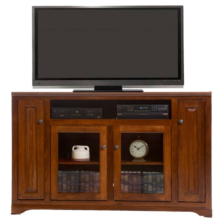 American Heartland 66 in. Poplar Tall TV Stand - Assorted Finishes - #95863AM