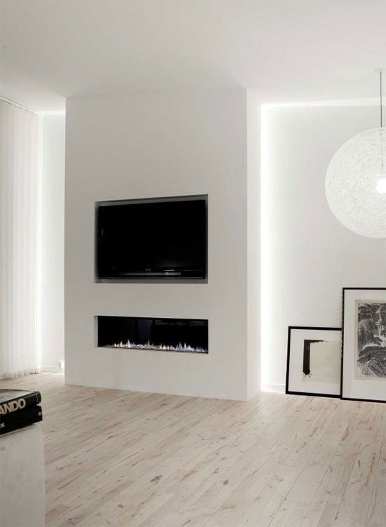Love the simplicity of the cut out here. Floor is fab too. Penthouse in Copenhagen by Norm Architects