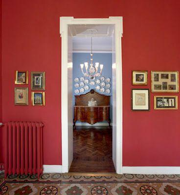 VINTAGE A COLORI: villa d'epoca nel cuore di #Milano - COLOURFUL VINTAGE: #ArtNouveau Style #villa in Milan