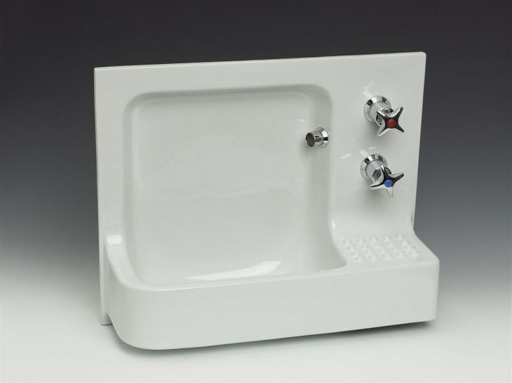 'Barbican' hand rinse basin (model 14008) | Michael Hohmann | V&A Search the Collections