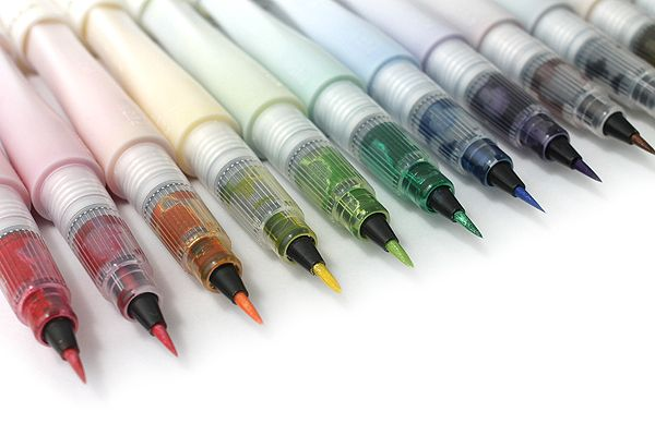 Kuretake Zig Wink of Stella Glitter Brush Pen - Brown - KURETAKE MS-55-060
