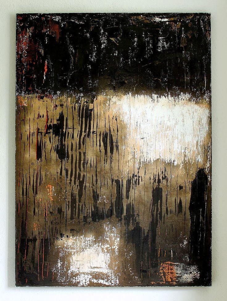 CHRISTIAN HETZEL: furrowed paint