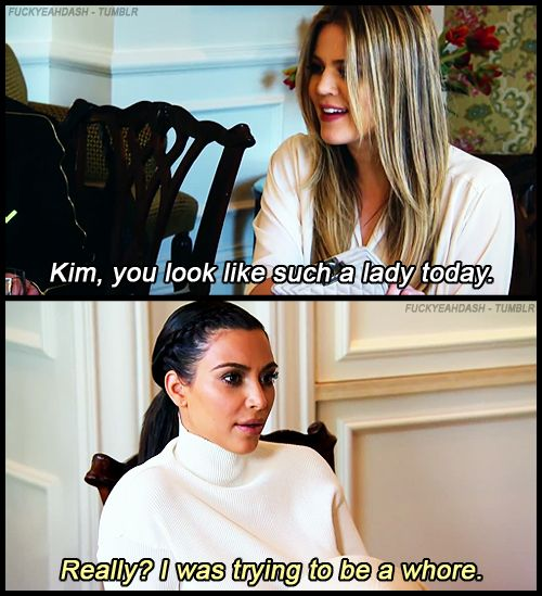 Really, the show should be called <i>Keeping Up With Those Kim Roasts</i>.