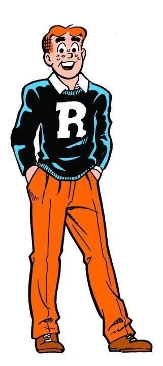 Archie Andrews, Archie Comic Publications, Inc. https://www.pinterest.com/citygirlpideas/archie-comics/