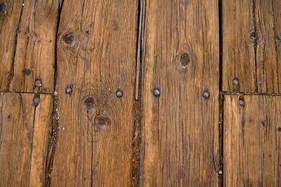 How to repair nail holes in a deck rip it up carpets for Hardwood floors dog nails