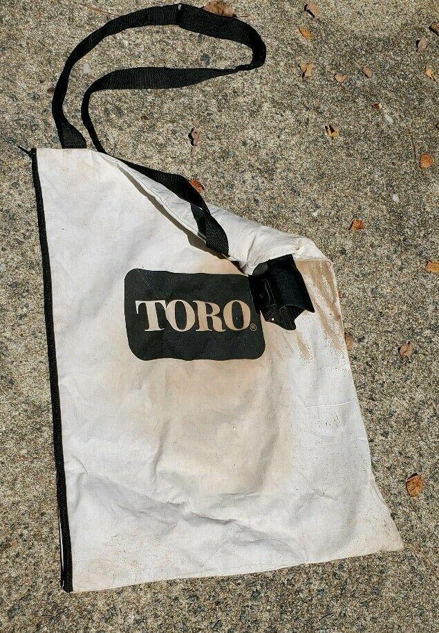 Toro Leaf Blower Bag Debris Vacuum Canvas With Zipper 108 8994 127 7040 137 233 Toro Rearzipperbag Bags Ebay Zipper