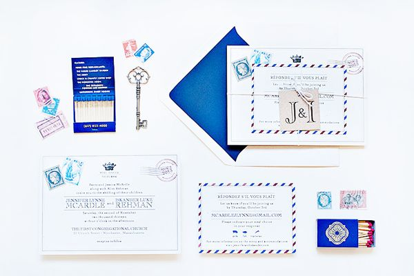 Airmail Wedding Invitations: 100 Best Bilingual Wedding Invitations Images On Pinterest
