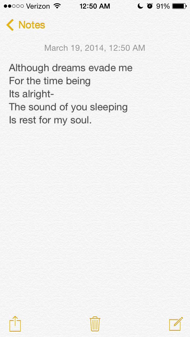 Peaceful insomnia