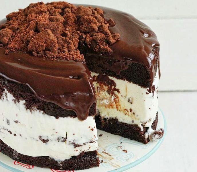 Il mio angolo nel mondo.: Semifreddo al cioccolato e mascarpone.