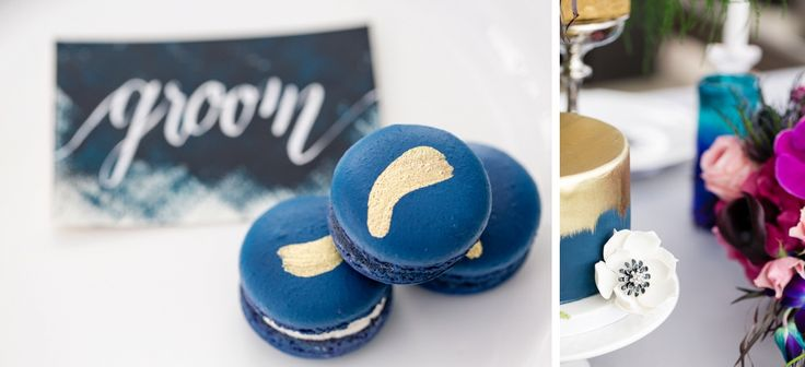 Grouse Mountain Wedding / Joanna Moss Photography / designed by Memory Laine Events / Blue / Purple / Green
