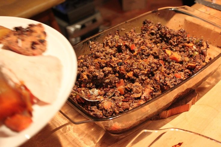 Mexican Chorizo Stuffing - Lancegiving Smoke/Roast Turkey