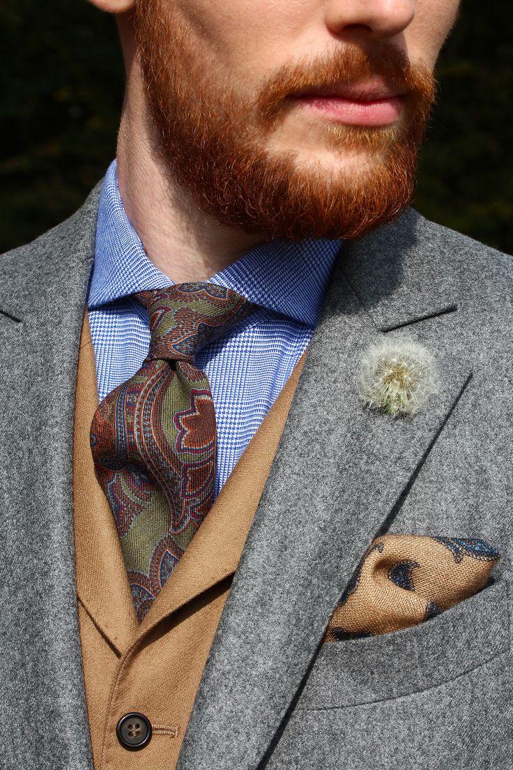 Costume déstructuré & demi-doublé. Poches plaquées & vraies boutonnières aux manches. Tissu en Flanelle, gris sublime uni, laine Vierge #WicketSoBritish