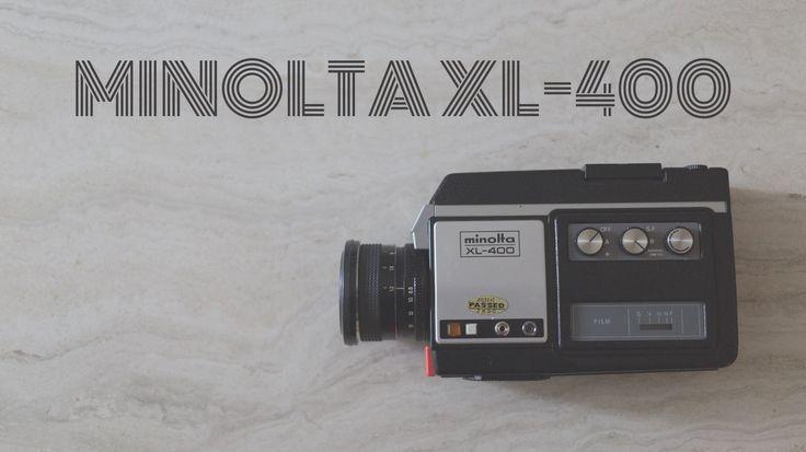 Minolta XL-400  https://danielhedrick.com/blog/2017/3/minolta-xl-400  #minolta #videocamera #8mm