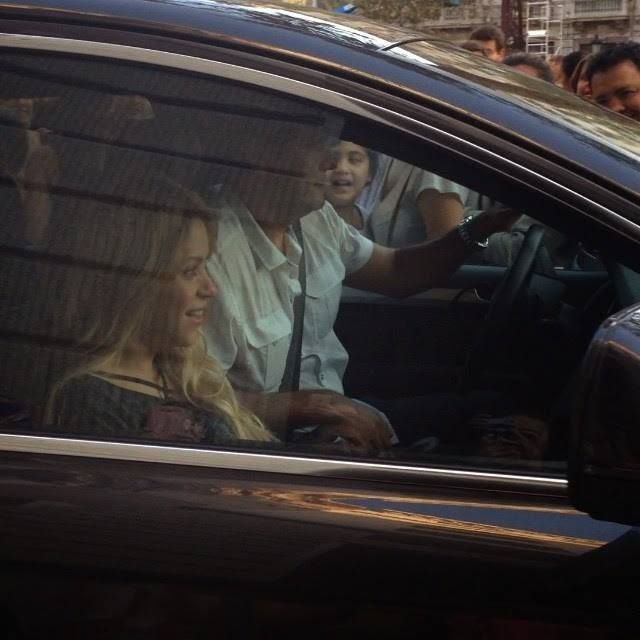 LAS CADERAS TABASCO: Video de Shakira en Barcelona, España (09/10/14)
