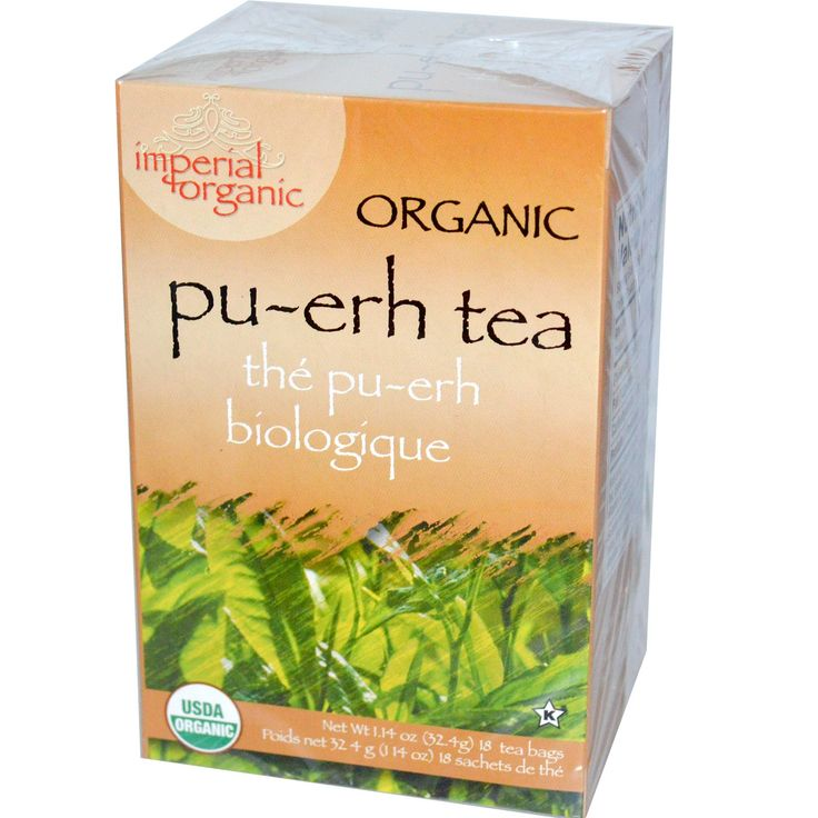 Imperial Organic Pu-erh Tea - 18 Tea Bags