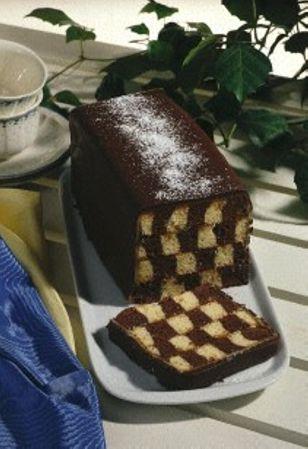 Schachbrettkuchen