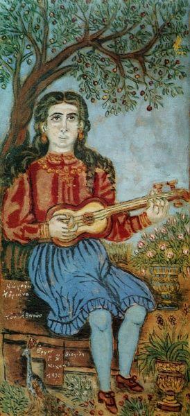 Η Ωραια Αδριανα Αθηνων, Θεόφιλος Κεφαλάς - Χατζημιχαήλ | Καμβάς, αφίσα, κορνίζα, λαδοτυπία, πίνακες ζωγραφικής | Artivity.gr