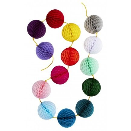 Honeycomb Rainbow Garland