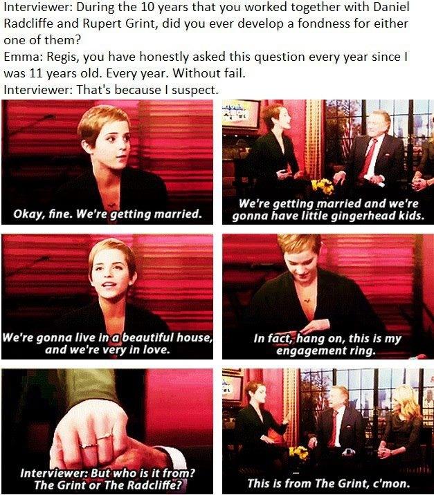 Haha Emma Watson :)