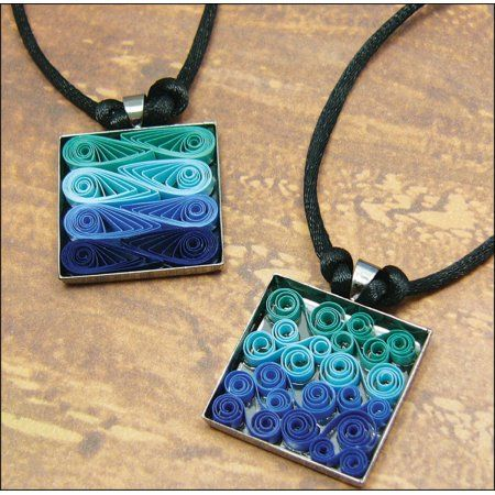 Free Shipping on orders over $35. Buy Quilled Creations Quilling Kit, Modern Waves Necklace at Walmart.com