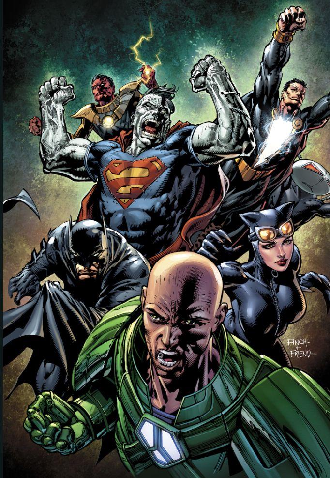 Injustice League Prime Earth Batman Origin David Finch Comics