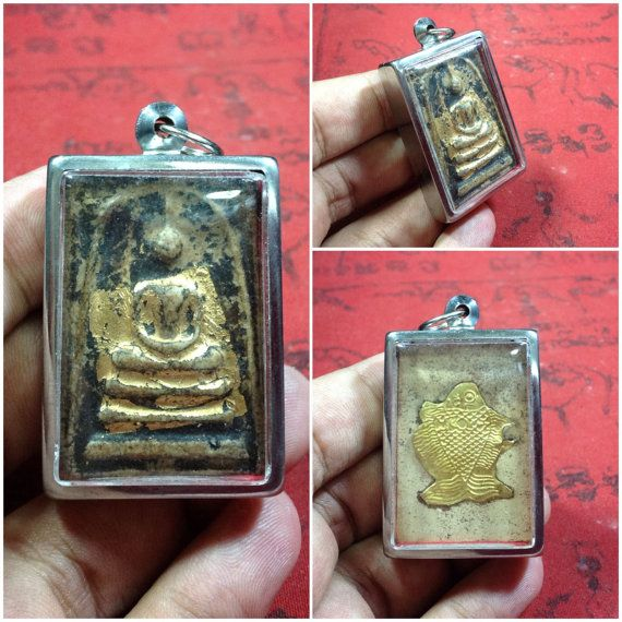 Holy Powder Phra Somdej Thai AmuletRich and by LeFuCycliste