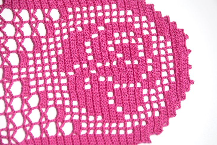 Crochet doily tabletop decor lace centerpiece by TableTopJewels