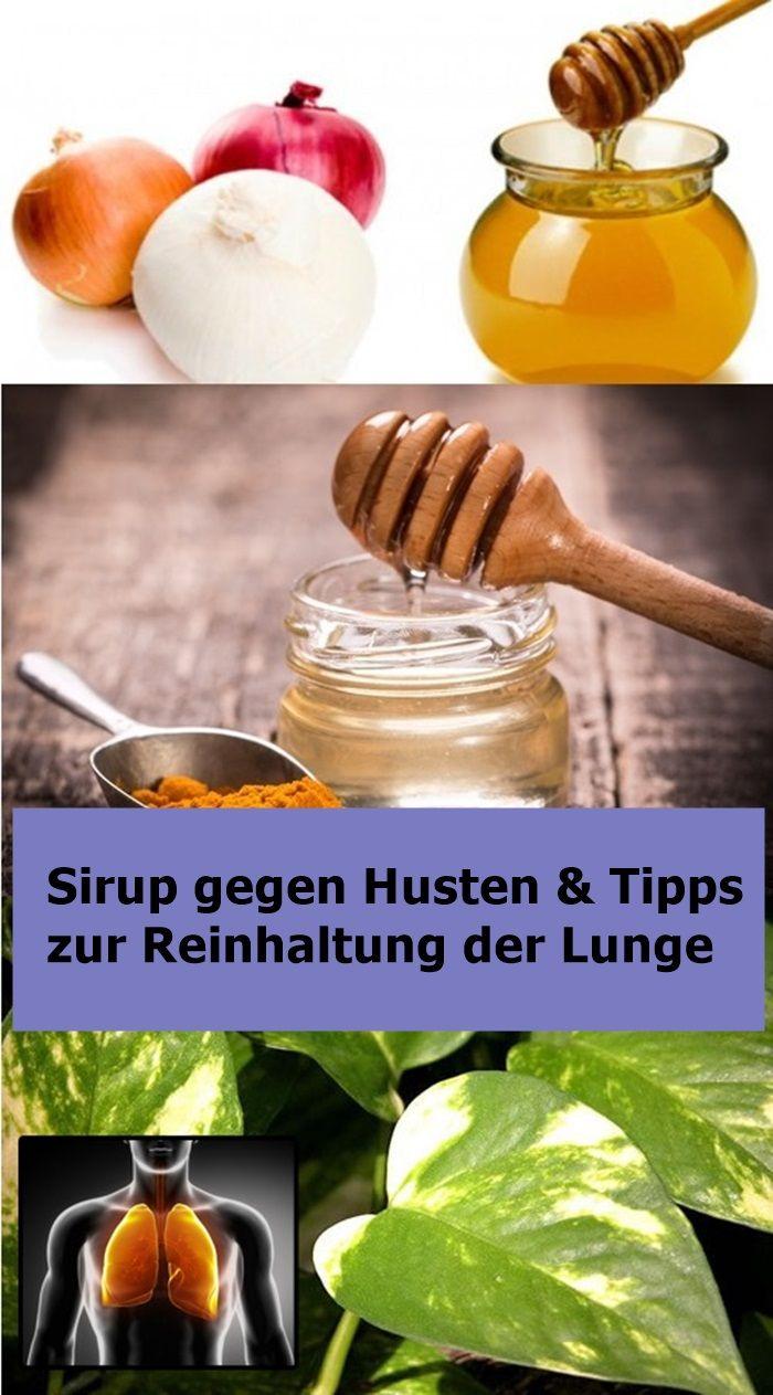 Sirup gegen Husten & Tipps zur Reinhaltung der Lunge | isfurano!