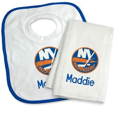 9 best new york islanders baby gifts images on pinterest baby our officially licensed personalized new york islanders bib and burp cloth set is an excellent gift negle Images
