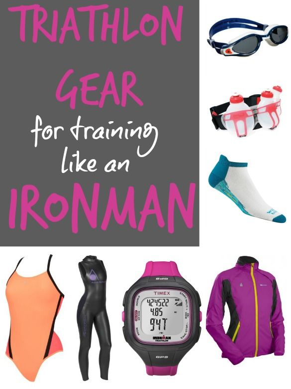 Do you have the right stuff to train like an Ironman for your triathlon? Kristen's sharing some of the gear that's helping her prep for the Ironman Augusta 70.3 race.