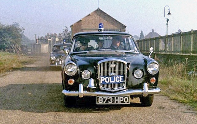 Wolseley 6/110 police car - Law & Order 1960........