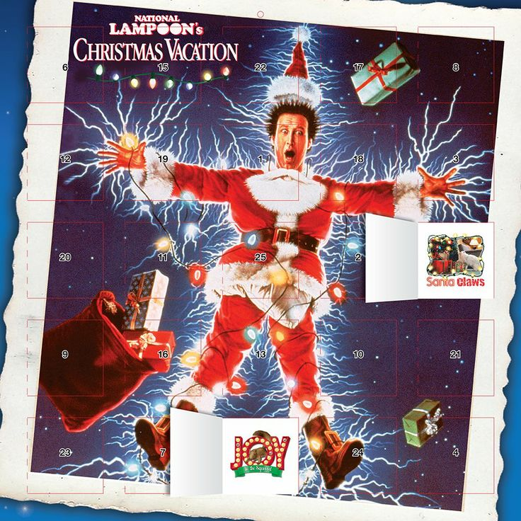 National Lampoon Christmas Vacation 2015 Square 12x12