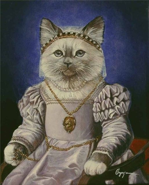 Melinda Copper | Les chats de Melinda Copper - Anthropomorphic cat