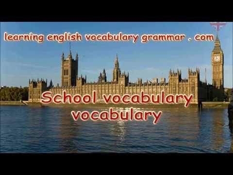 School rooms workers teachers vocabulary video