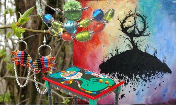 Recomandarea saptamanii - Inspiratie: curcubeu! | Online Gallery - Galerie online de arta, handmade si obiecte decorative unicat