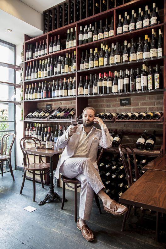 Tom Harrow  Wine merchant...