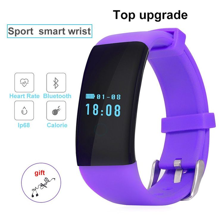 DFit IP68 Sports Smart Wristband Watch for Android IOS