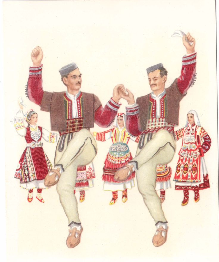 Macedonian national dances
